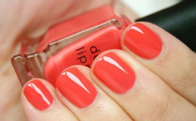 Coral colour is good as nail polish or lipstick to add the tint of feminity