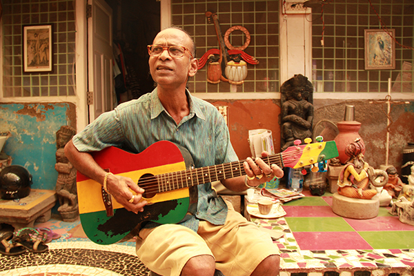 Wilfred Felizardo (Willy) in his 120 years old house in Khotachiwadi. Photo Courtesy - Ethel Misquitta
