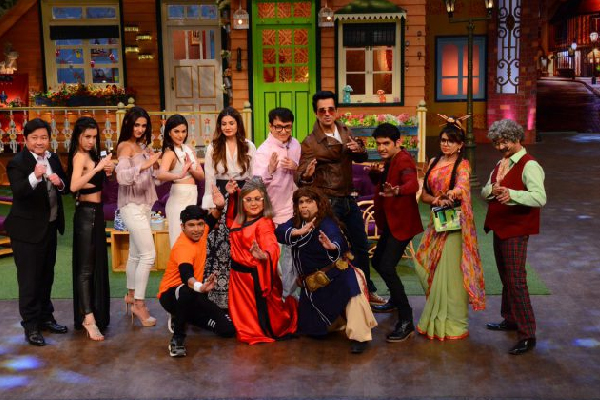 KungFuYoga at Team The Kapil Sharma Show