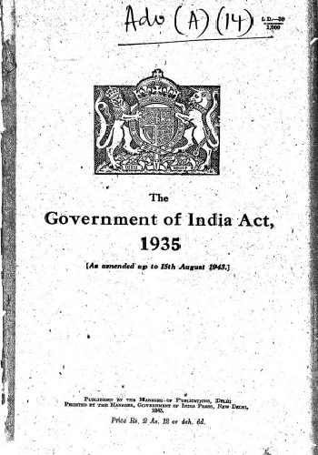 Government of India Act 1935