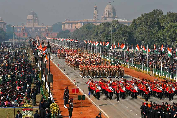 Republic Day 2017 Raj Path