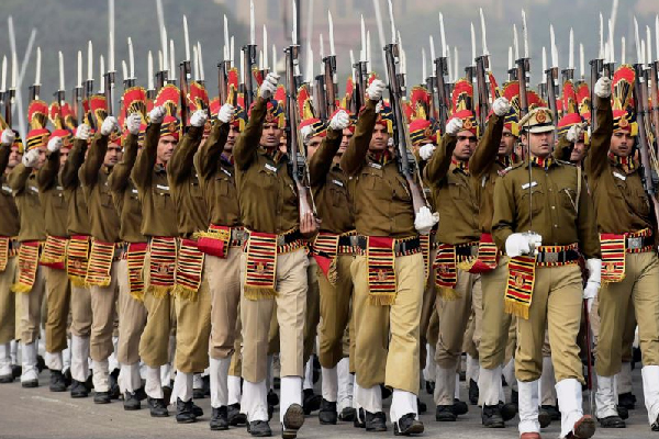 Republic Day 2017 Guns