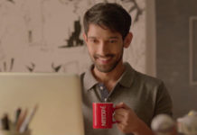 Vikrant Messey in Nescafe Advertisement