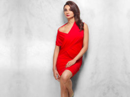 Ira Dubey Red Dress