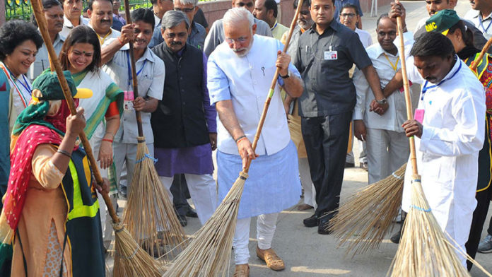 Modi Cleaning Road