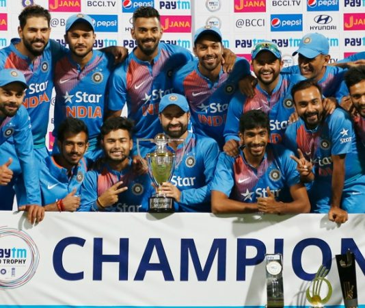 Indian Cricket Team 2018