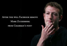 Mark to leave facebook