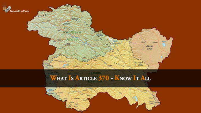 Article 370 Jammu and Kashmir