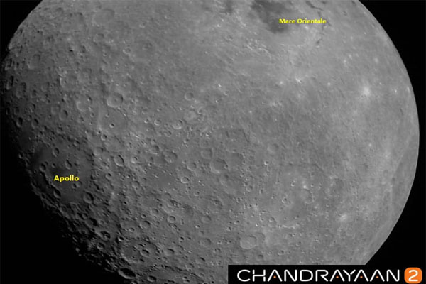 Chandrayaan-2 in Lunar Orbit