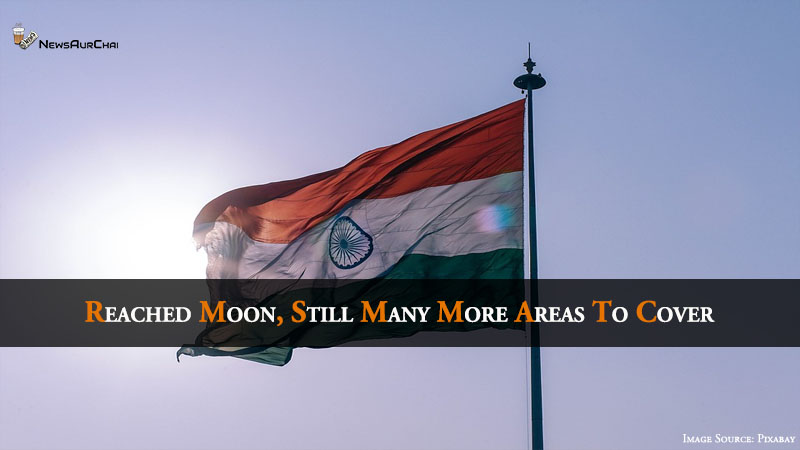 Reached Moon, , Still many more areas to cover