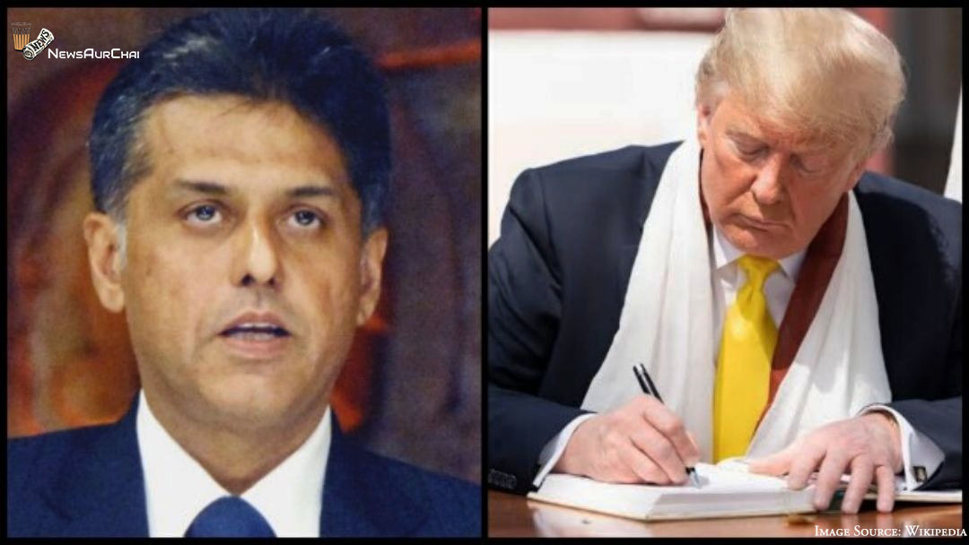 """Why Manish Tewari Stated India is Reduced to """"Lowly Buyer"""" After Trump's Visit?"""