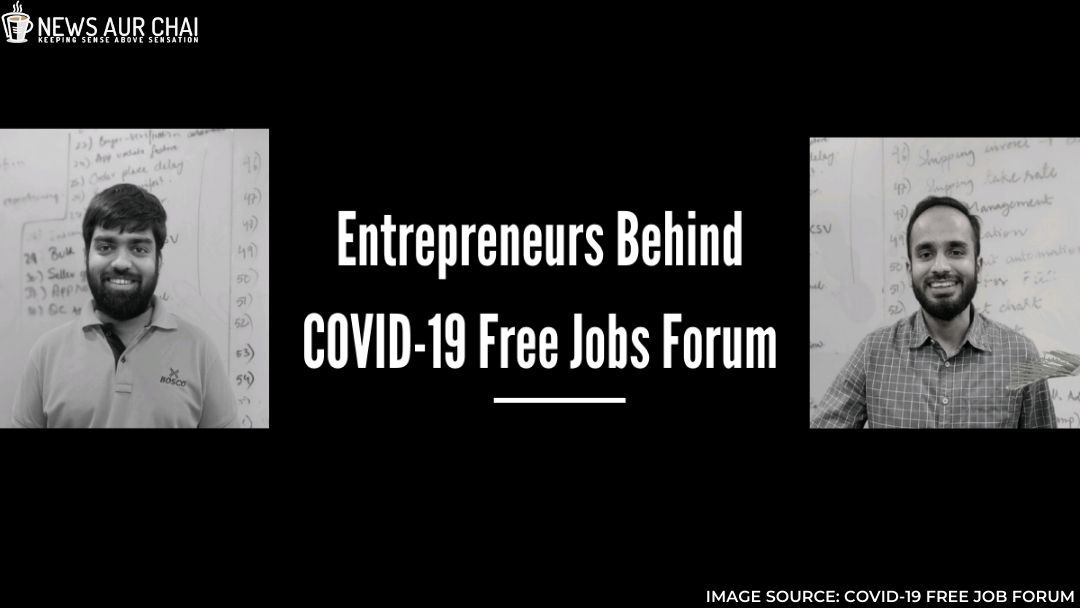 Social Initiative by Two Entrepreneurs to help Job Seekers During COVID-19.