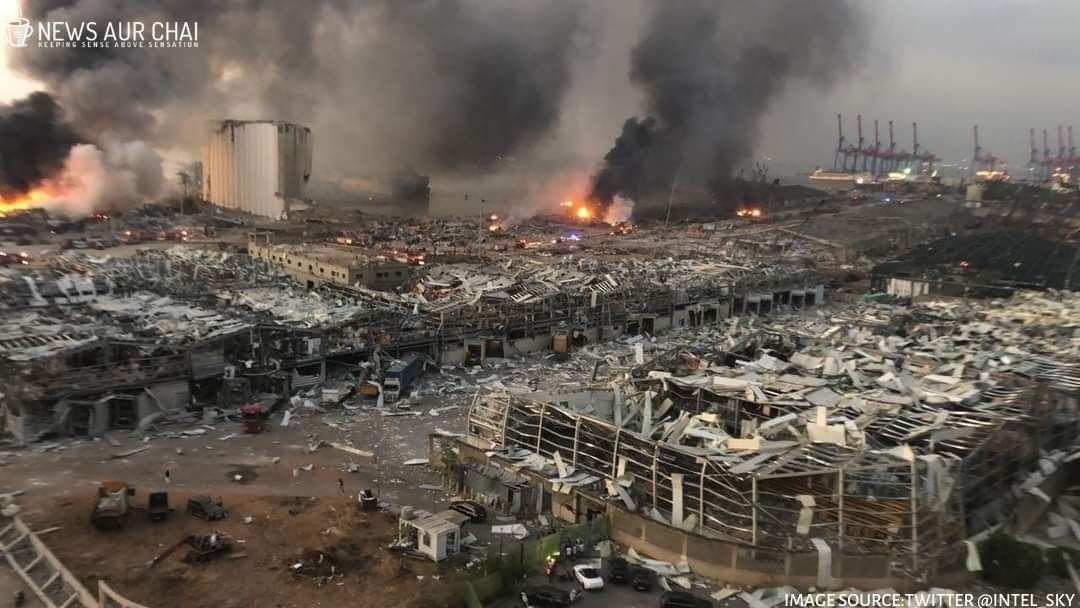 Beirut Explosion: Blast Equivalent To Several Hundred Tons TNT - Experts